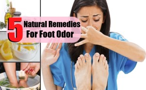 5 Easy Natural Remedies For Foot Odor