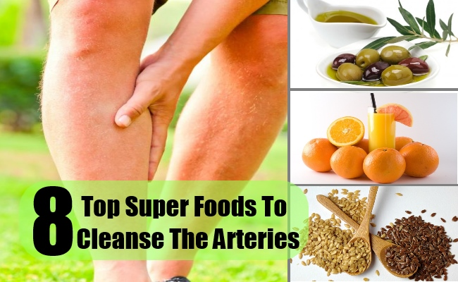 8 Super Foods To Cleanse The Arteries And Promote Healthy Living