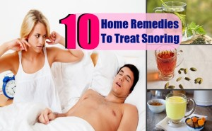 10 Top Home Remedies To Treat Snoring