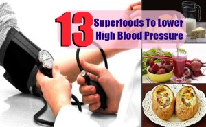 13 Top Superfoods To Lower High Blood Pressure