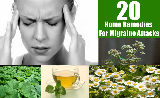 20 Sure Shot Home Remedies For Migraine Attacks