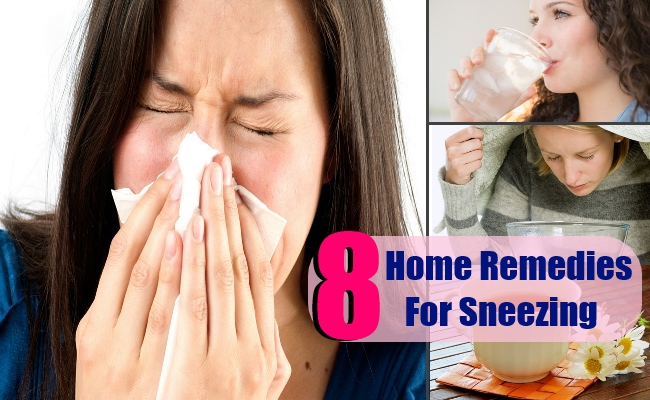 8 Top Home Remedies For Sneezing