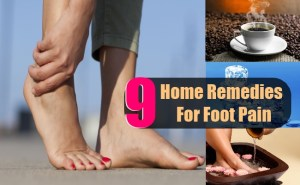 9 Top Effective Home Remedies For Foot Pain