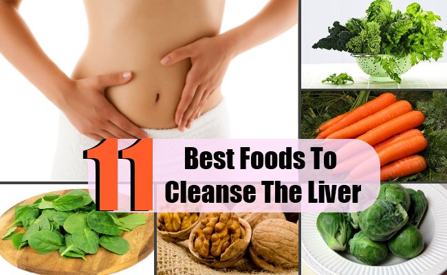 Top 11 Foods To Cleanse The Liver