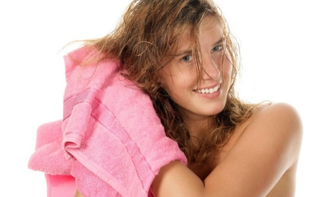 Dry Your Hair Naturally