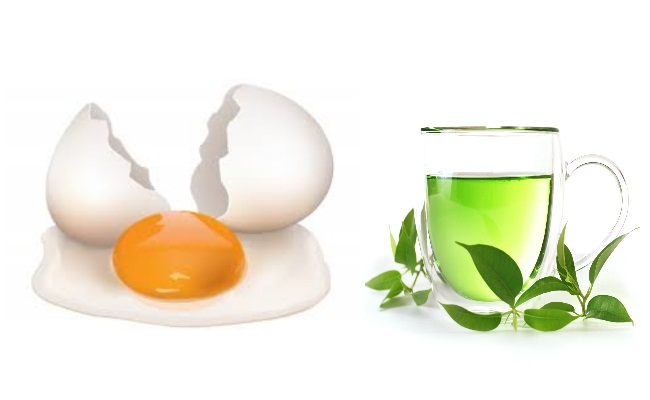 Egg Yolk And Green Tea