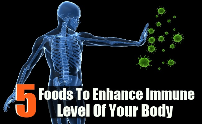 5 Foods To Enhance Immune Level Of Your Body
