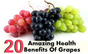 20 Amazing Health Benefits Of Grapes