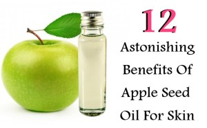 12 Astonishing Benefits Of Apple Seed Oil For Skin