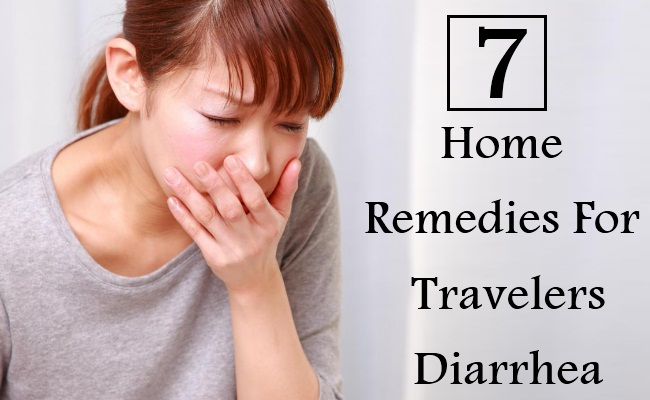 7 Home Remedies For Travelers Diarrhea