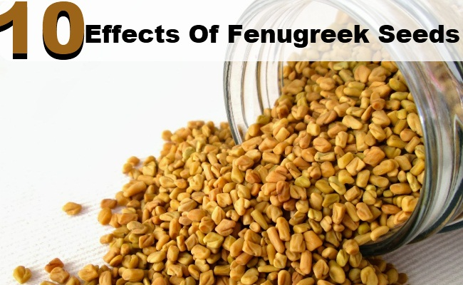 10 Side Effects of Fenugreek Seeds