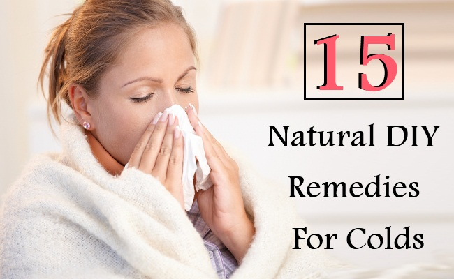 15 Natural DIY Remedies For Colds