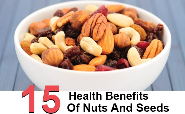 15 Top Health Benefits Of Nuts And Seeds
