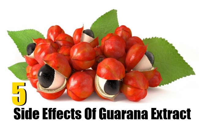 5 Side Effects Of Guarana Extract
