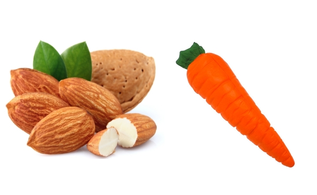Almond And Carrot
