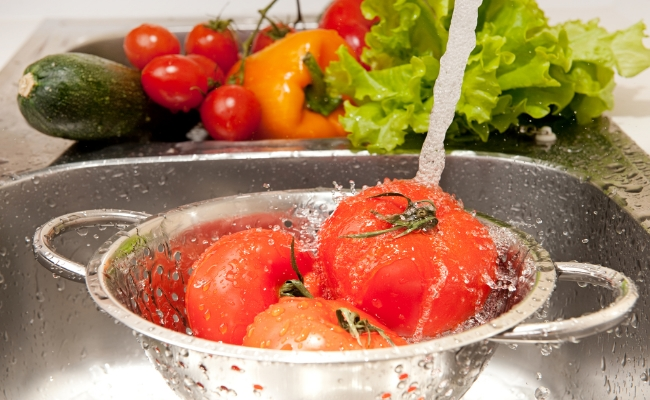 Wash Fruits And Vegetables Before Cooking Them