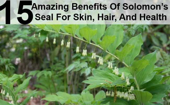 15 Amazing Benefits Of Solomon's Seal For Skin, Hair, And Health
