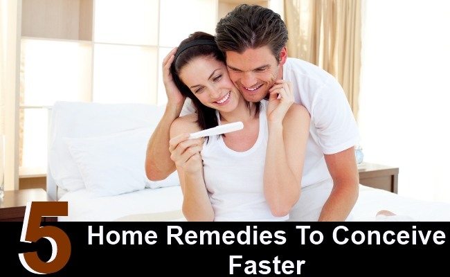 5 Home Remedies To Conceive Faster