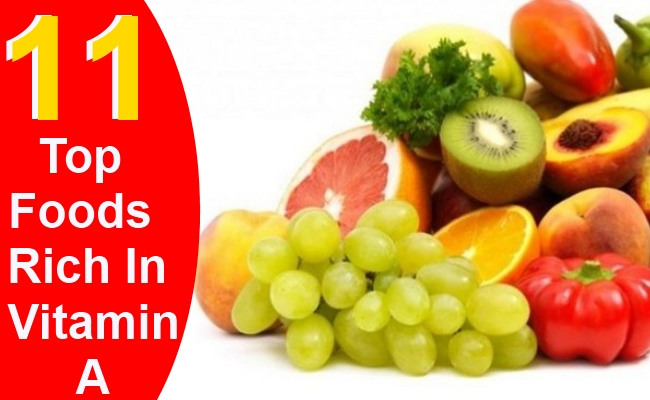 Top 11 Foods Rich In Vitamin A