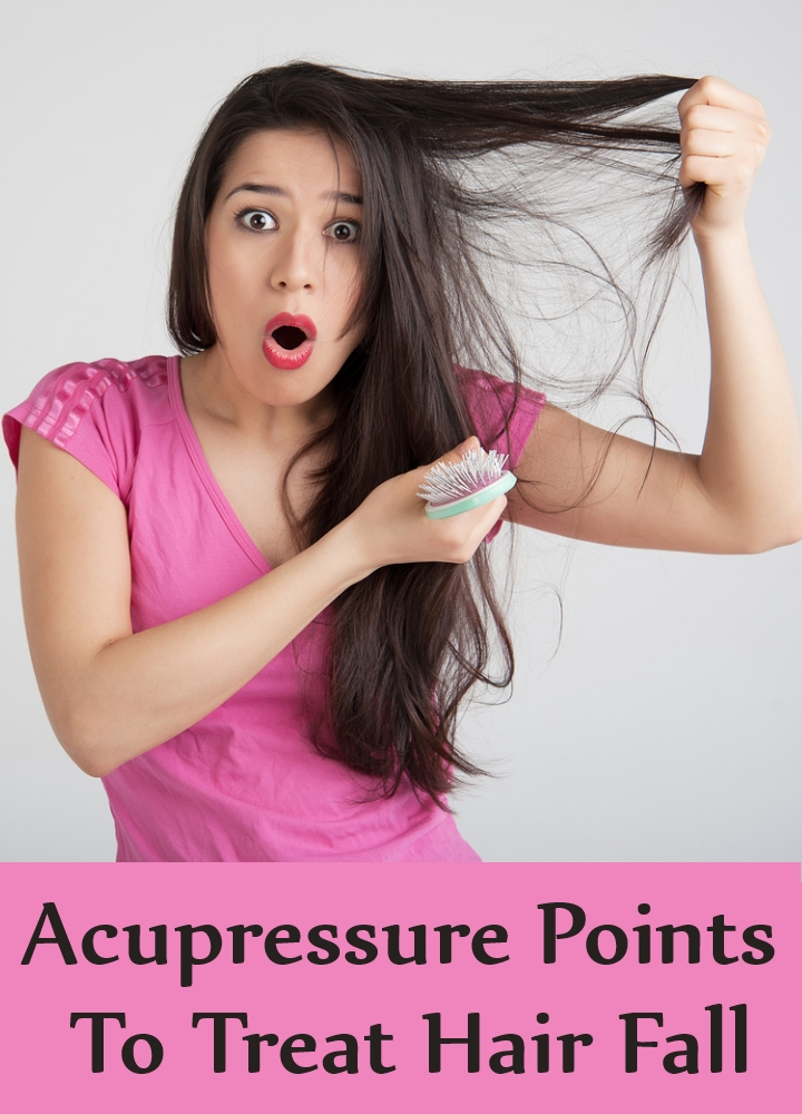 Acupressure Points To Treat Hair Fall