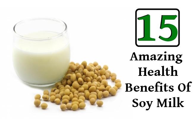 Amazing Health Benefits Of Soy Milk