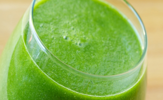 Green Apple, Carrot and Wheatgrass Juice