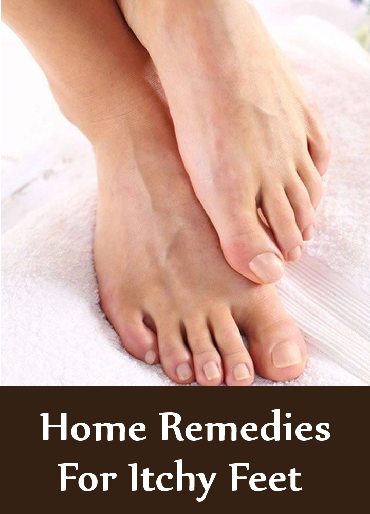 Amazing Home Remedies For Itchy Feet