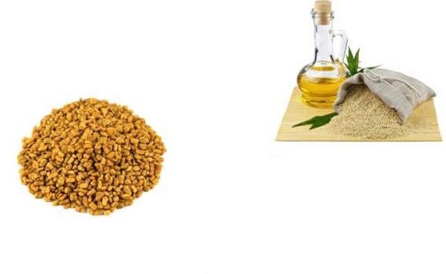 Sesame Oil And Fenugreek