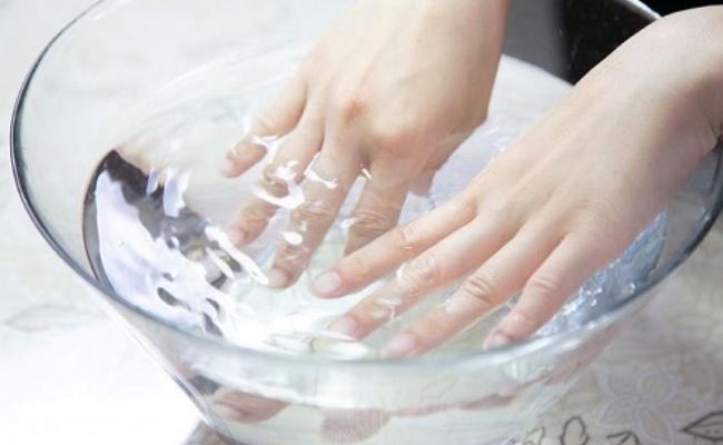Soak In Lukewarm Water