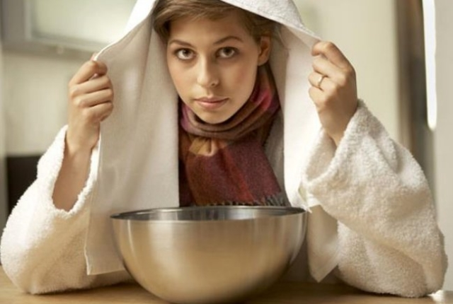 Try Garlic Steam Therapy
