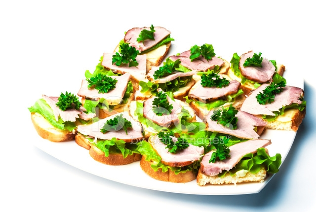 parsley Salads And Sandwiches