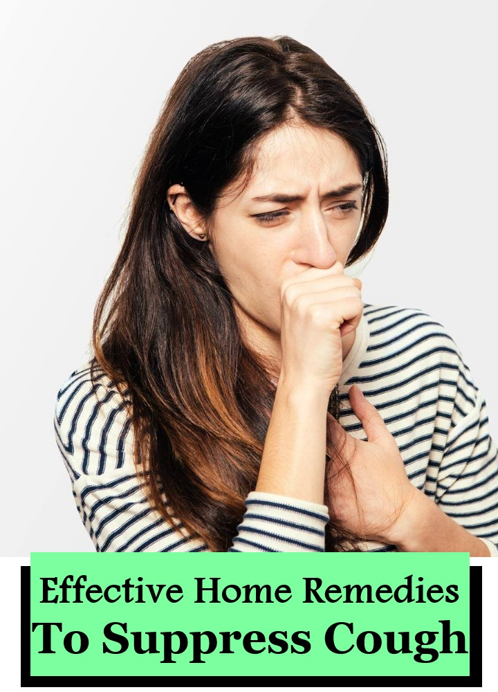 13 Effective Home Remedies To Suppress Cough