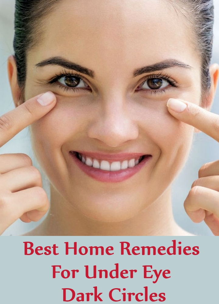 Best Home Remedies For Under Eye Dark Circles