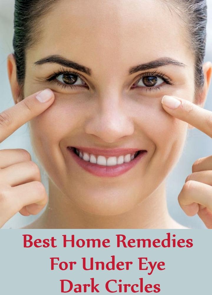 Best Home Remedies For Under Eye Dark Circles