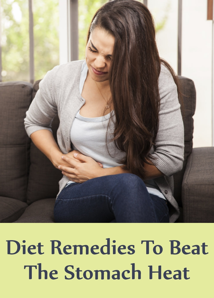 Diet Remedies To Beat The Stomach Heat