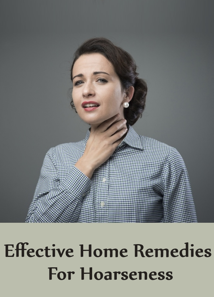 Effective Home Remedies For Hoarseness