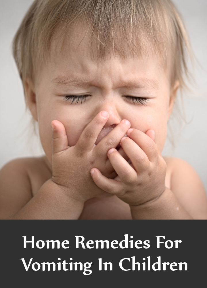 Home Remedies For Vomiting In Children