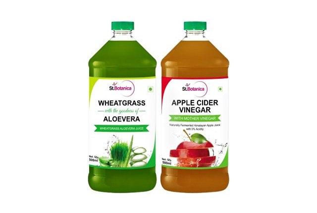 Apple Cider Vinegar And Aloe Vera Juice