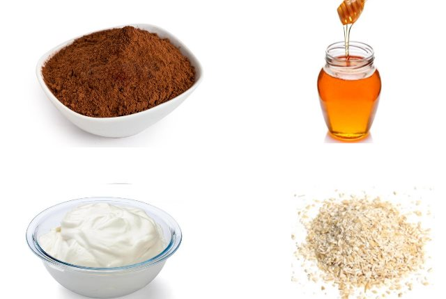 Cocoa and Oatmeal Mask for Dry Skin