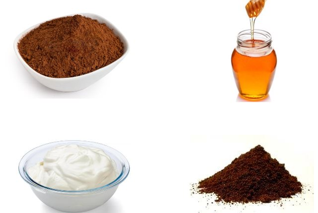 Coffee and Cocoa Anti-Aging Face mask