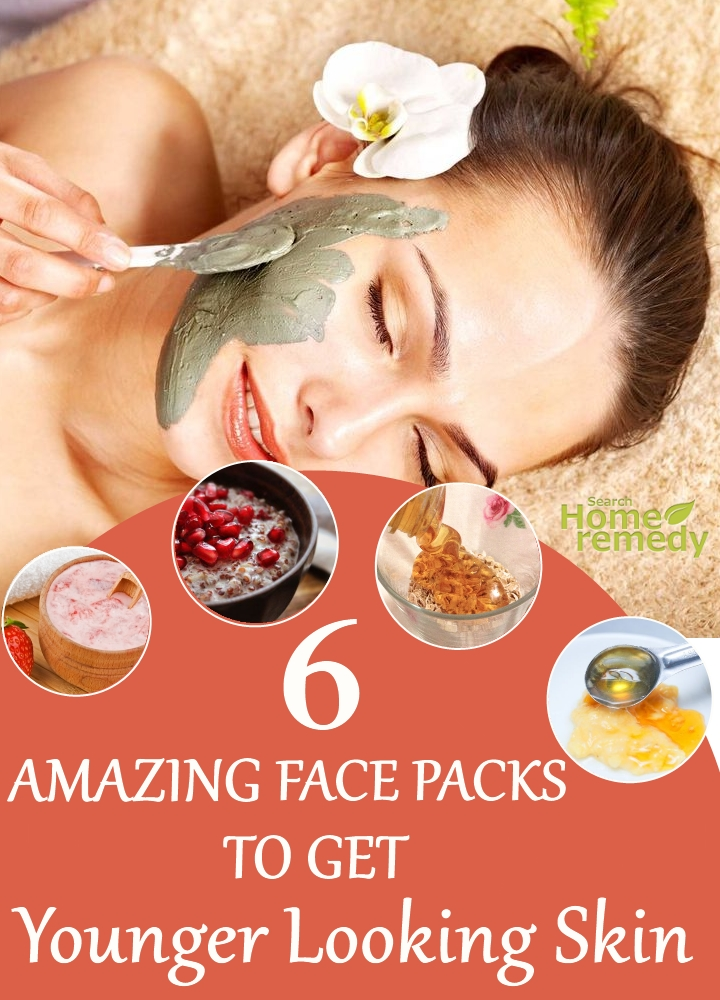 Face Packs To Get Younger Looking Skin