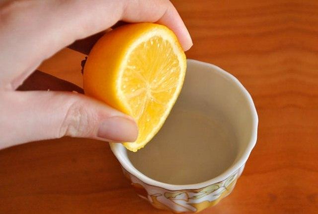 Orange Juice And Glycerin Mask