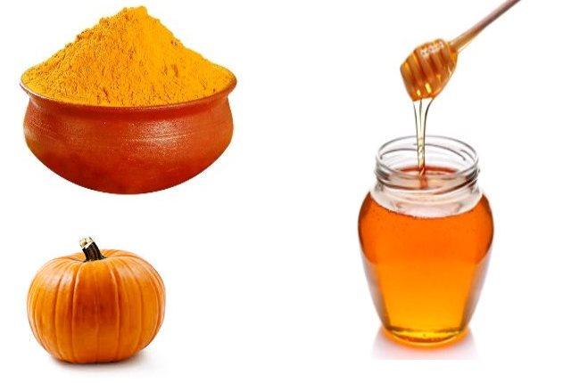 Pumpkin Turmeric And Honey Mask