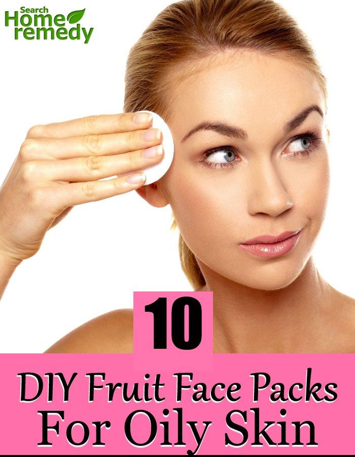 10 DIY Fruit Face Packs For Oily Skin