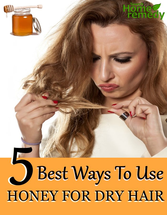 5 Best Ways To Use Honey For Dry Hair