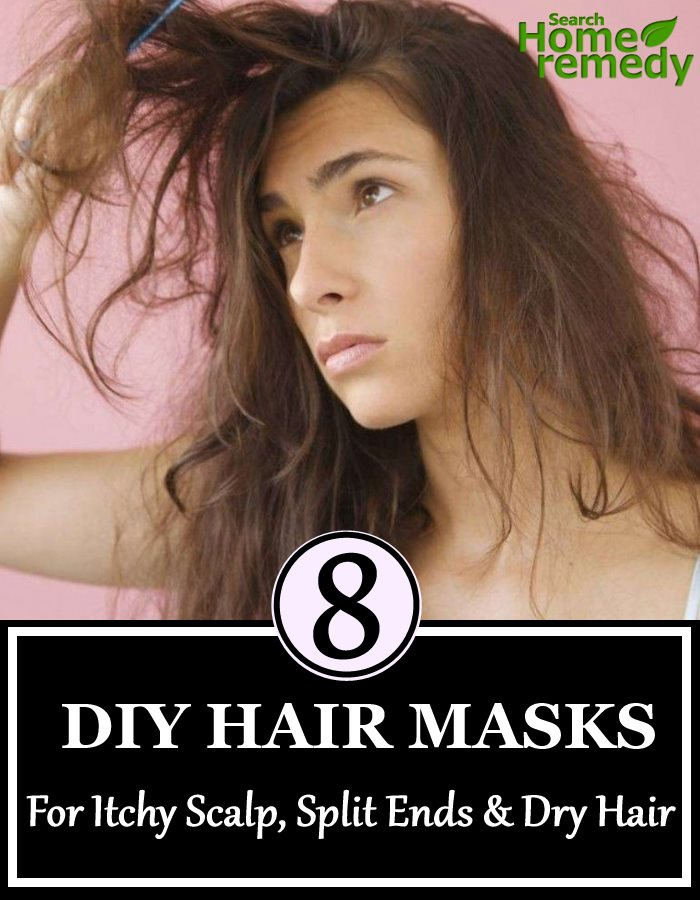 8 DIY Hair Masks For Itchy Scalp, Split Ends And Dry Hair