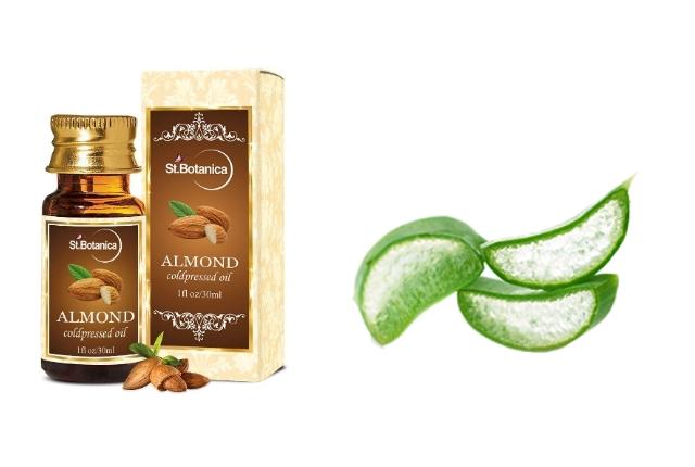 Almond Oil And Aloe Vera Serum