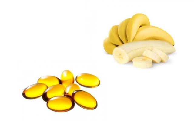 Banana Vitamin E Oil Pack