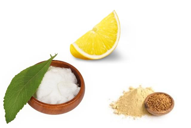 Camphor, Lemon Juice And Fenugreek Powder