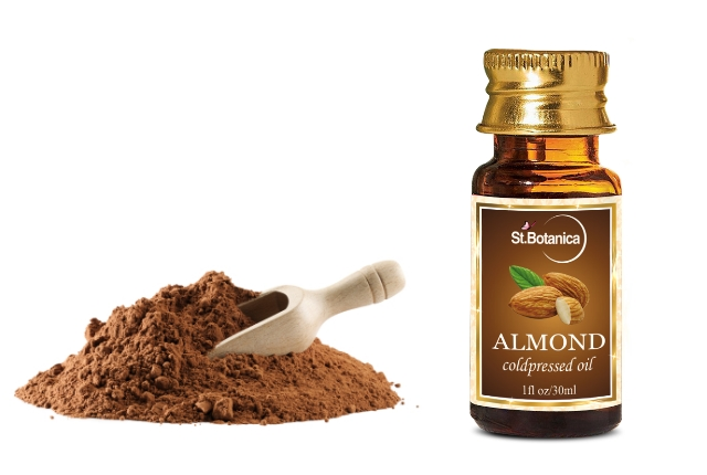 Chocolate And Almond Oil Mask